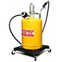 ถังอัดน้ำมันเกียร์ ขนาด 19 ลิตร,อัตราแรงดัน : 1.7:1[ พร้อมมิเตอร์และรถเข็น ]